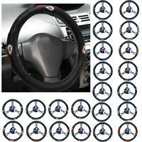 New NFL All Teams Synthetic leather Car Truck Universal Fit Steering Wheel Cover