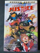 Young Justice Volume 1: Gemworld. DC HC hardcover. Bendis. Superboy, Robin