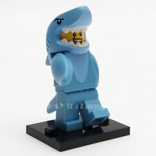 LEGO Minifigure 71011 Series 15 #13 Shark Suit Guy New in Factory Sealed HTF