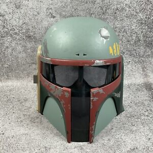 2009 Hasbro Boba Fett Helmet Cosplay Electronic Working (Missing Antenna)