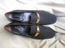 "Women's Amalfi Rangoni 1.5"" Heels Size  9 (B,M) Dress Solid Brown Fabric/Leather"
