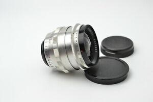 Carl Zeiss Jena Flektogon 2.8/35 M42 lens Silver S/N 4013847