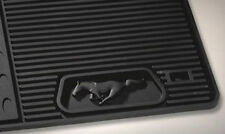 2011- 2014 MUSTANG OEM GENUINE FORD BLACK RUBBER ALL WEATHER FLOOR MAT