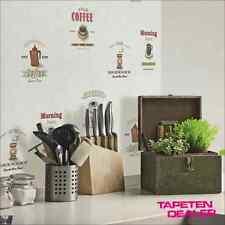 Vliestapete Kaffee Espresso Küche Cafe Retro G12240 Kitchen Recipes / 4,69 €/qm