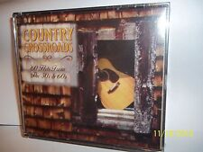 NEW SEALED COUNTRY CROSSROADS 60 HITS FROM THE 50's & 60's  HTF BUY IT RARE OOP