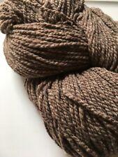 Imperial Stock Ranch Columbia Cocoa Heather 100% Wool Yarn Mill End 4oz Big Hank