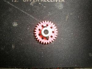 PARMA/PSE Pink 28T 48P SLOT SPROCKETS Spur Gear-NEW-slot car FREE Shpg