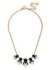STUNNING mini Steamer Glow Collection by Kate Spade STATEMENT BLUES Necklace