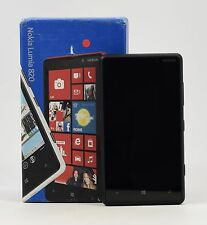 "USED - Nokia Lumia 820 Black (FACTORY UNLOCKED) 4.3"" AMOLED ,8GB ,8MP"
