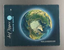 More details for pan american jet clipper route maps paa am 1967 world airways