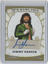 JIMMY GARVIN 2016 Leaf Signature #36 Autograph AUTO Freebirds WCW WCCW Signed