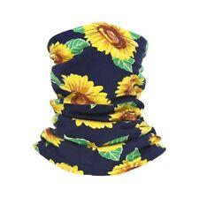 Sunflower Multi-Use Bandana Headwear Washable Headband Face cover Scarf