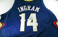 BRANDON INGRAM / AUTOGRAPHED NEW ORLEANS PELICANS CUSTOM BASKETBALL JERSEY / COA