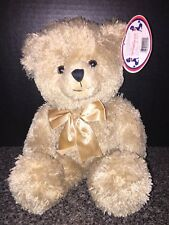 """15"""" Stuffed Happy Bear with Bow Plush Best Made Toys Limited"""