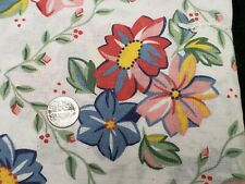 New ListingBest Vintage Feedsack Quilt Doll Fabric Sweet Spring Flowers Sugar Flour Sack