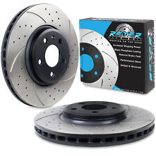 FRONT DRILLED GROOVED 320mm NEW BRAKE DISCS FOR AUDI A4 A5 S5 Q5 3.2 FSI 3.0 TDI