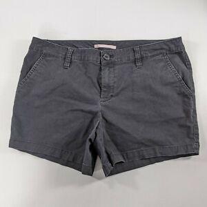 Victorias Secret High Waisted Black Jean Shorts Size 10