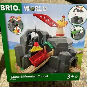 Brio world 33889 large gold mine with sound tunnel