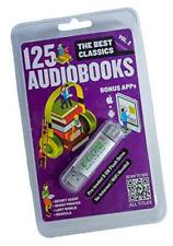 E Go Library Ego2033 125 Classic Audiobooks V2 Preloaded Usb