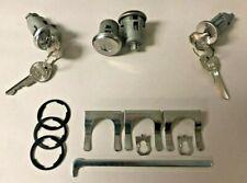 NEW 1968 Buick Skylark, Special, GS- Ignition, Door, & Trunk Lock Set- GM Keys