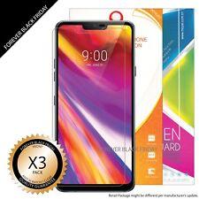 LG G7 Thin Q Screen Protector 3x Anti-Scratch HD Clear Cover Guard Shield Saver