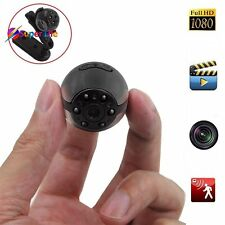 Spy Hidden Camera Round 1080P HD 6 LED Infrared Night Vision Motion Detection