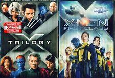 MARVEL'S X-MEN 1+2+3+4: Original, United, Last Stand, First Class NEW 4 DVD