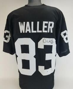 Darren Waller Signed Las Vegas Raiders Custom Jersey (Beckett Witness COA)