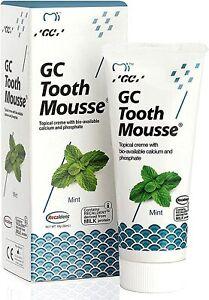 GC Tooth Mousse Teeth Remineralising Cream Strengthens Enamel - Mint 35ml