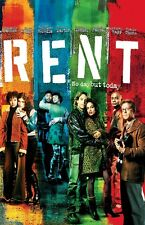 Rent movie poster (c) Idina MenzelL poster, Taye Diggs poster, Rosario Dawson