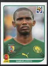 Panini Football Sticker - 2010 World Cup - No 408 - Cameroon - Samuel Eto'o