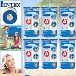 Intex 6x 29000 Pool A Filter A Kartuschen Ersatzfilter Filterkartusche für Pumpe