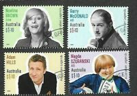 Australia-Comedy Legends set gummed fine used /cto 2020