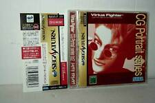 CG PORTRAIT SERIES VOL.2 VIRTUA FIGHTER USATO SEGA SATURN JAPAN NTSC/J VBC 37988