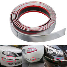 Exterior Car Chrome Adhesive Strip Trim Molding DIY Styling Decoration 2.5M 30mm