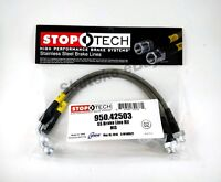 STOPTECH STAINLESS STEEL FRONT BRAKE LINES FOR 03-11 INFINITI FX35