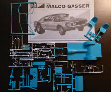 1967 Mustang 1/25 Funny Drag Car tube frame chassis axle rear end Malco Gasser