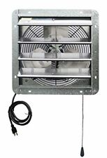14 Inch Exhaust Fan For Garage Attic Ventilation Shutter Greenhouse Air Mover A