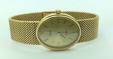 Mens Rare Vintage 1960's Rolex Cellini 18K Yellow Manual Wind Oval Watch