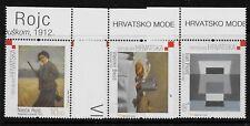 CROATIA SC 636-8 NH issue of 2006 - MODERN ART