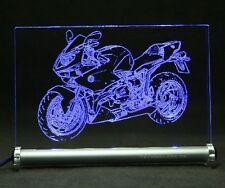 BMW HP2 Sport  als Gravur auf LED Leuchtschild Motorrad