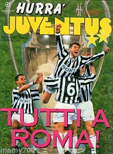 HURRA JUVENTUS=N°5 (88) 1996=FINAL CHAMPIONS LEAGUE= POSTER DEL PIERO/VIALLI