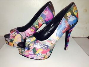 Custom Made Alice In Wonderland Shoes