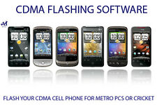 CDMA OR ANDROID PHONE FLASHING SOFTWARE ( METRO PCS OR CRICKET)