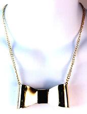 Elegante Oro Negro Cinta Collar única impresionante Partido desgaste de la tarde (Cl1)