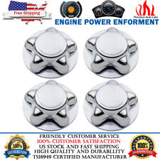 4PCS FOR FORD F150 F-150 TRUCK EXPEDITION 1997-2004 CHROME WHEEL CENTER CAP HUB