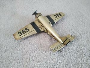 avion mecanique tole peinte et litho JUNKERS JU52 HABI germany 1937 WWII rare