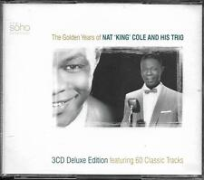 COFFRET 3 CD DELUXE EDITION 60T THE GOLDEN YEARS OF NAT KING COLE & HIS TRIO