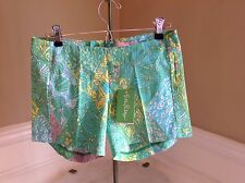 NWT Lilly Pulitzer $68 Sun Dance Small Deenie Shorts Size 00