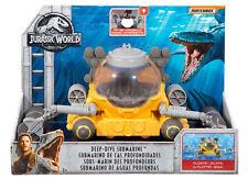 Jurassic World 2 DEEP-DIVE SUBMARINE VEHICLE FLOATS LIGHTS FALLEN KINGDOM FNF43